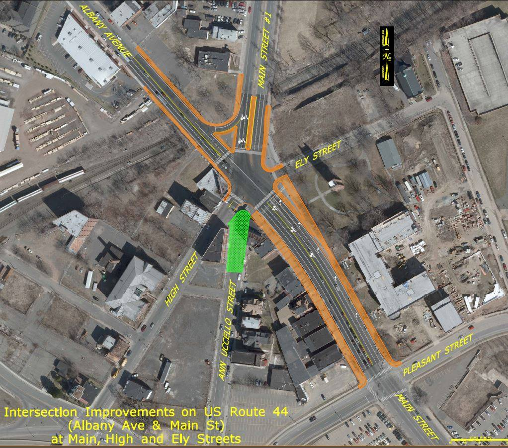 An intersection proposal that short changes pedestrian and bicycle users