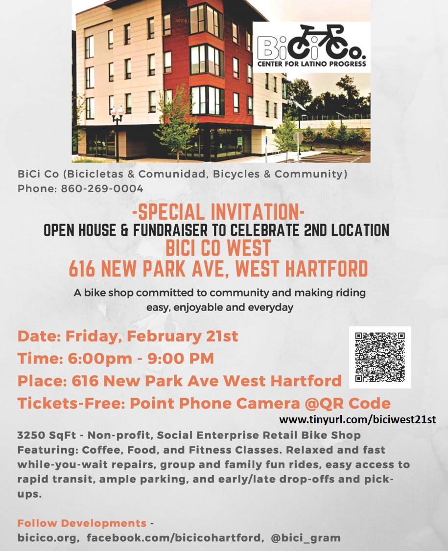 BiCi Co. West Party Flyer, Feb 21st