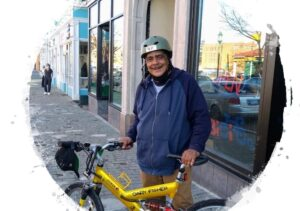 Bikes for Jobs Recipient Photo