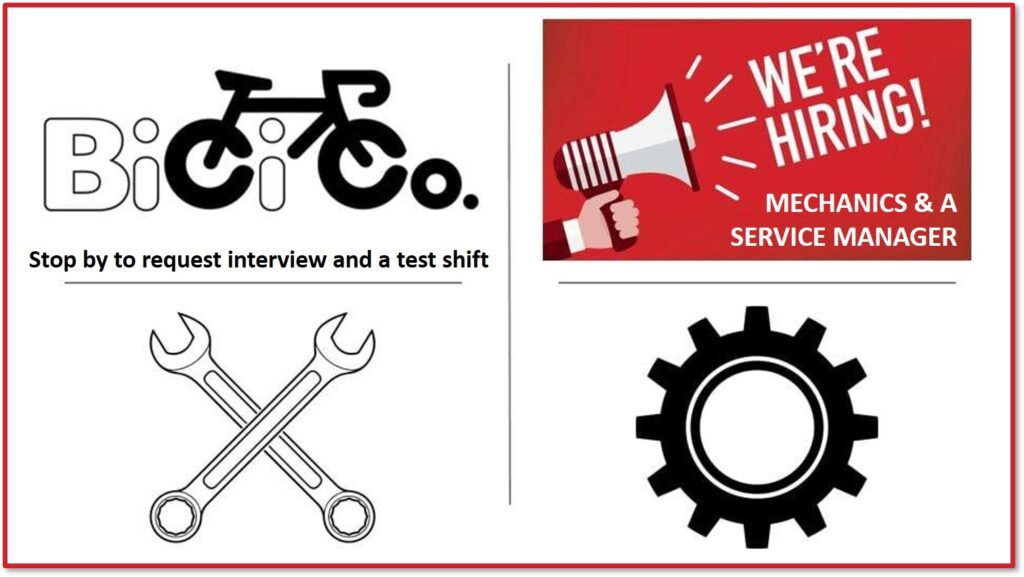 BiCi Co. is Hiring Banner Image